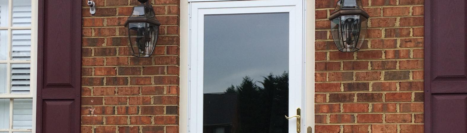 QuietVue Insulated Storm Door