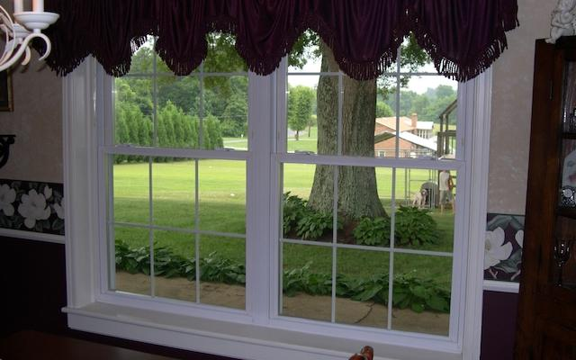 Vinyl Double Hung Interior