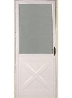 Aluminum Storm Doors West Window